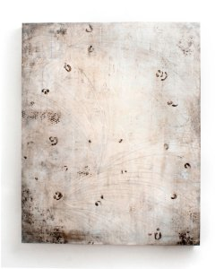 Heirloom 50 x 40 inches Encaustic on panel