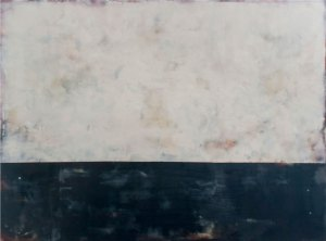 After Shock 45 x 60 inches Encaustic on Panel - ©ShawnaMoore