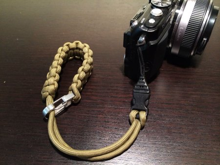 DSPTCH wrist strap connected