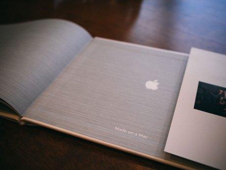 Apple photo book: Made on a Mac