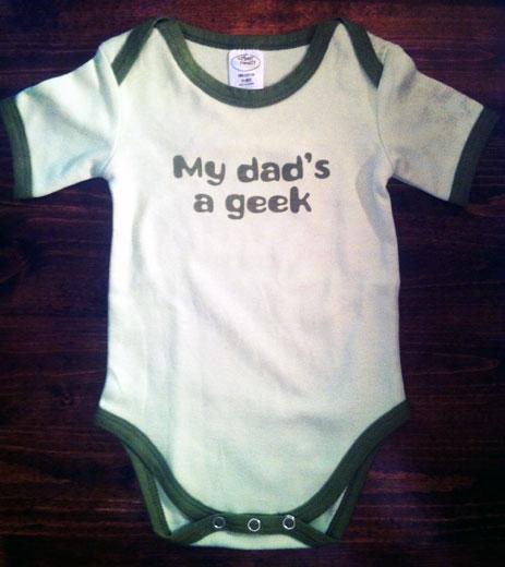 My Dad's a Geek Onesie