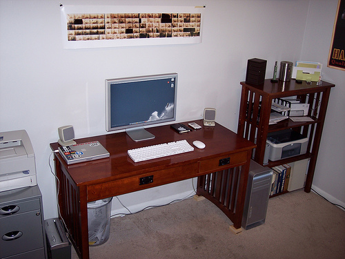 The Old Office Setup