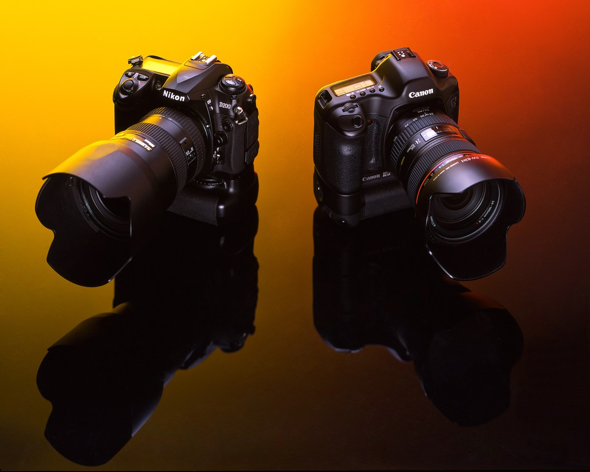 Nikon Vs. Canon © Shawn Collie Photography