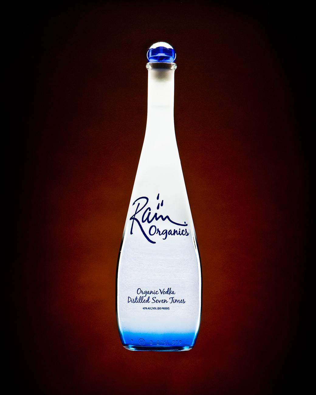 Rain Organics Vodka © Shawn Collie Photography