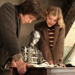 Asa Butterfield and Chloe Grace Moretz in Hugo.
