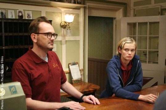 Pat Healy and Sara Paxton image The Innkeepers