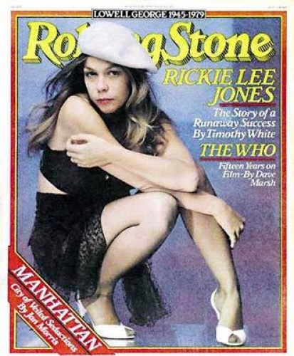 Rickie Lee Jones Rolling Stone magazine cover