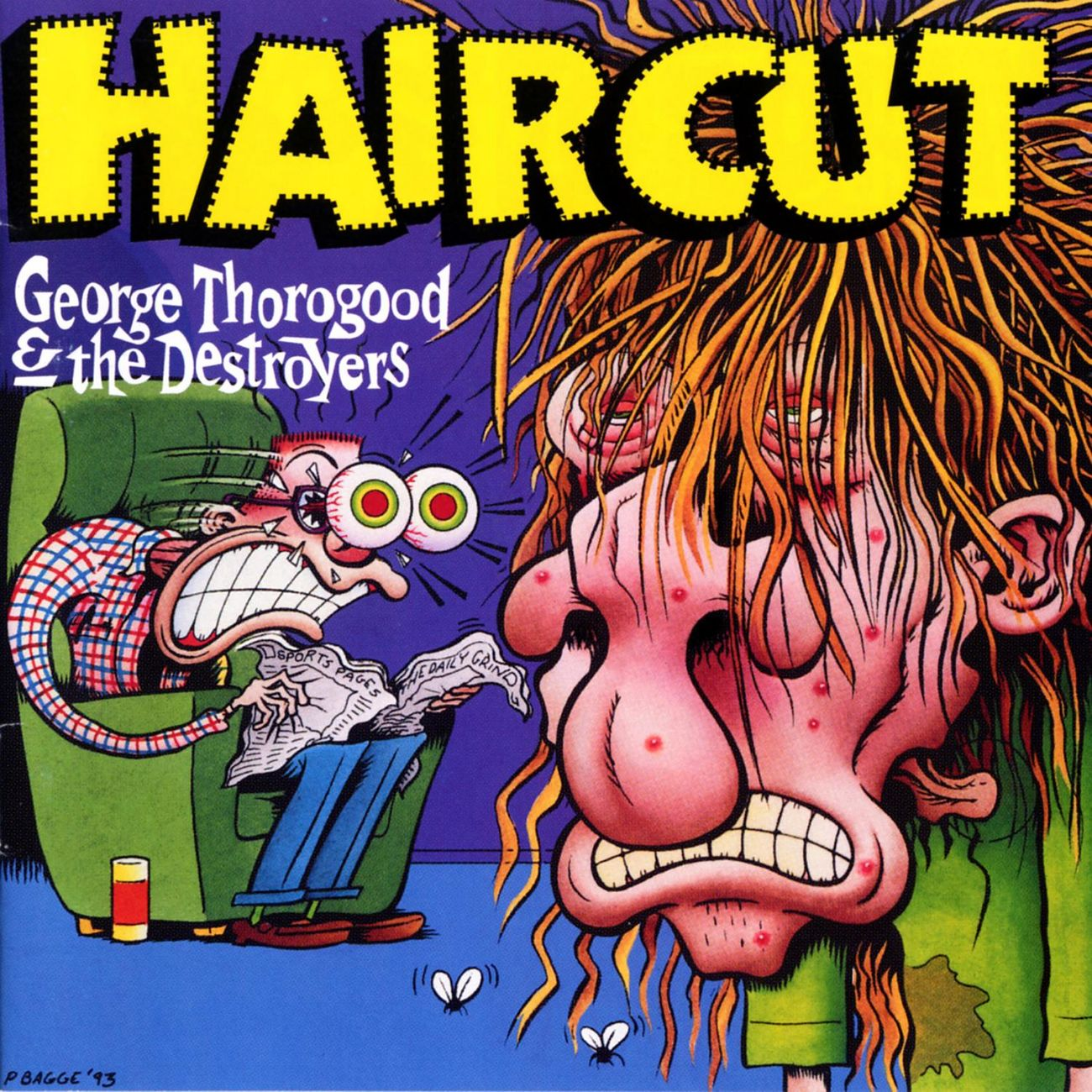 George Thorogood Haircut album cover