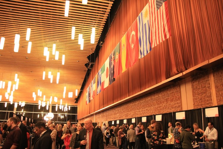 International Tasting Room at the 2017 Vancouver International Wine Festival