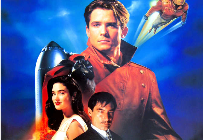 The Rocketeer, the 1991 Disney superhero film that never had a chance