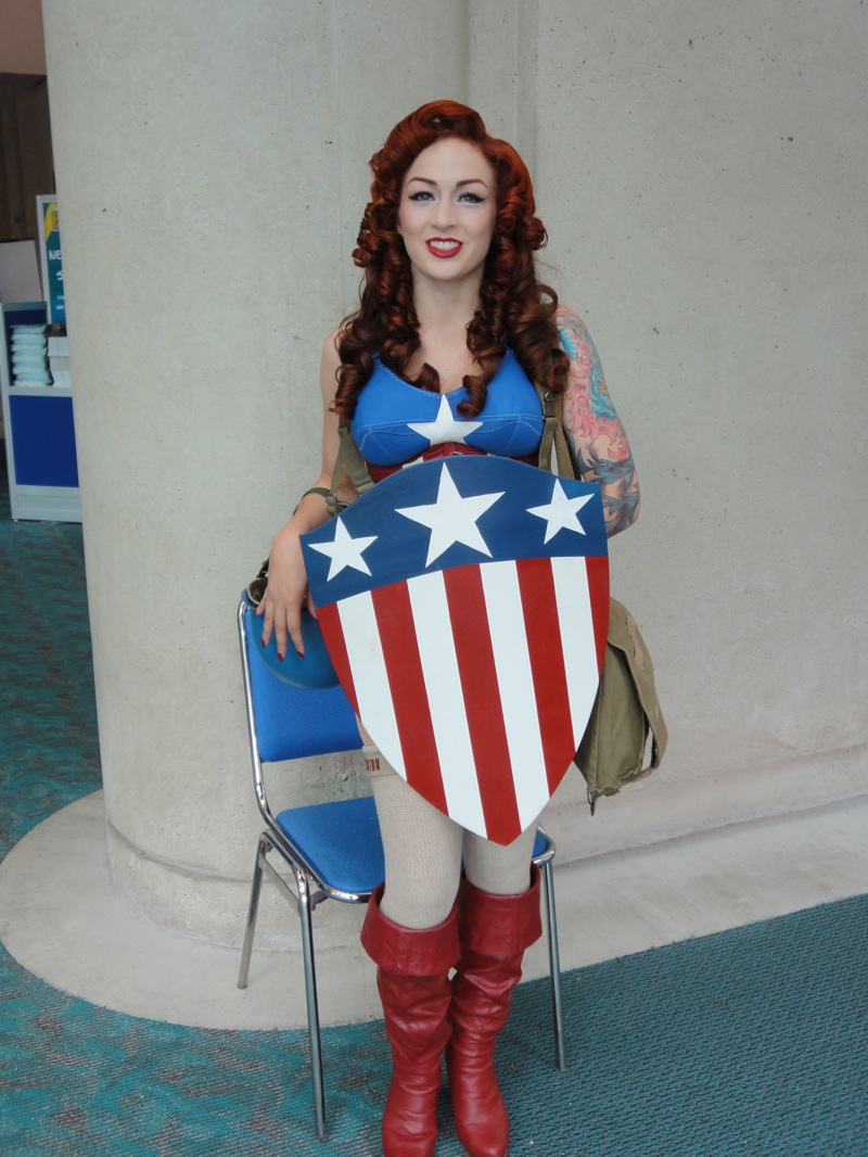 San Diego Comic-Con cosplay American Shield