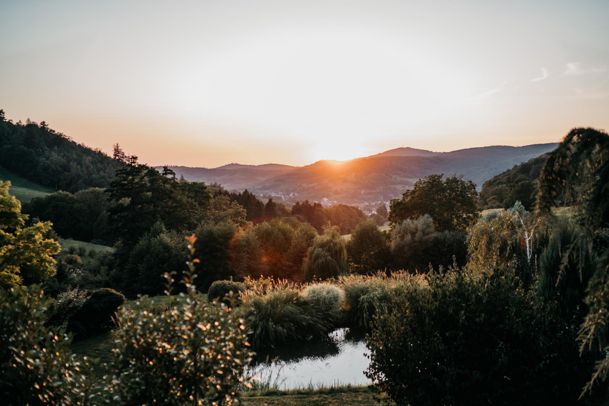 Sommerhochzeit auf Hofgut Hohenstein