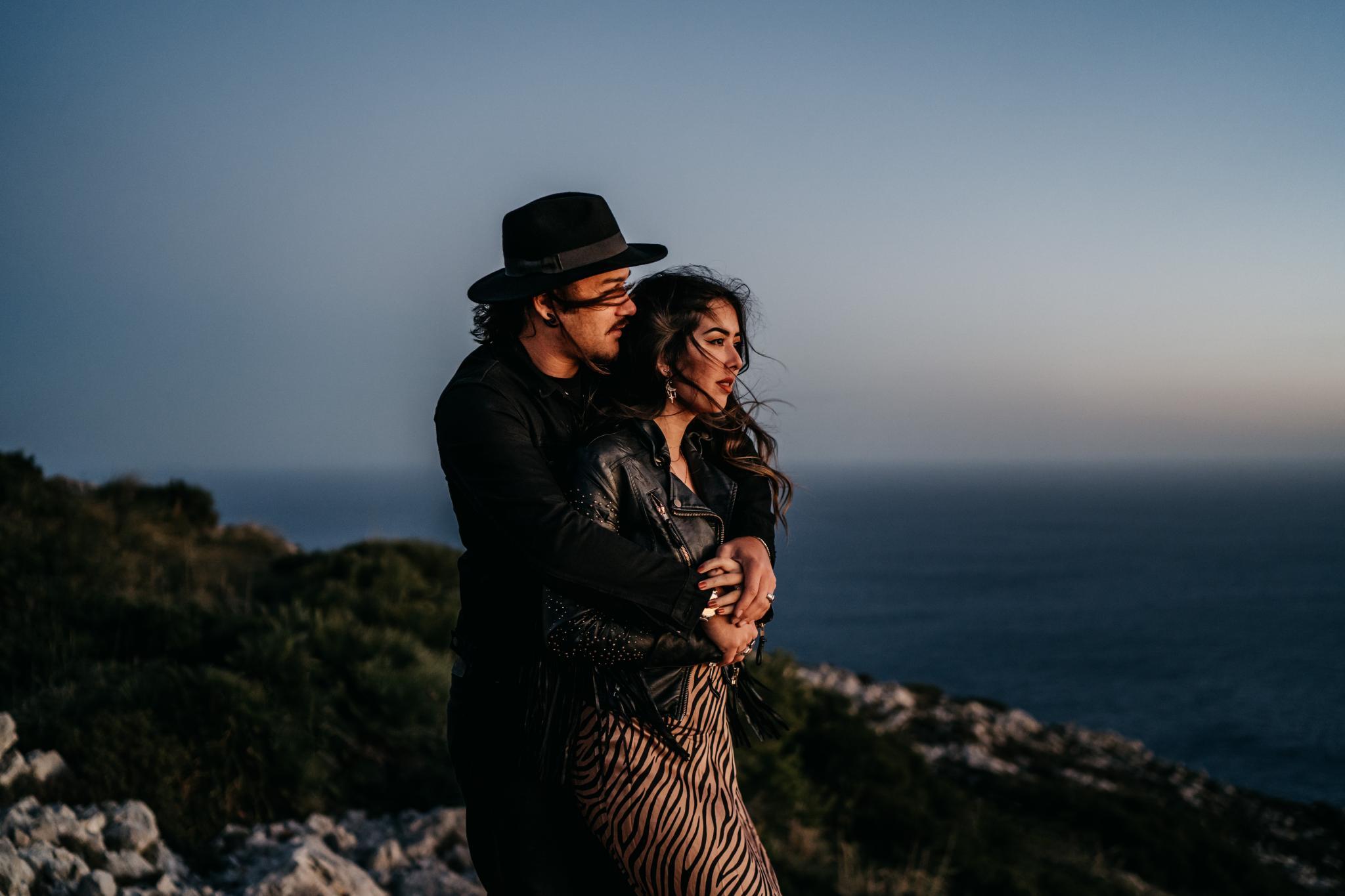 Sunrise Shoot auf Mallorca Verlobung