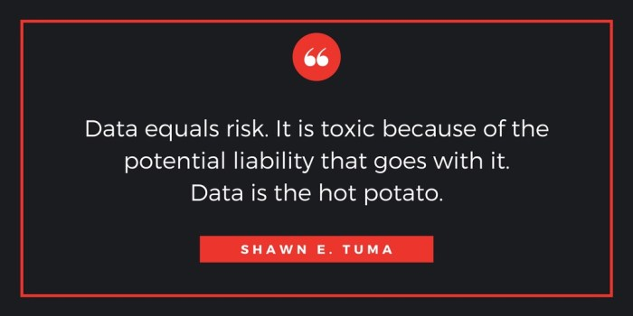 Data is the hot potato!