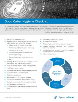 Cyber Hygiene Checklist
