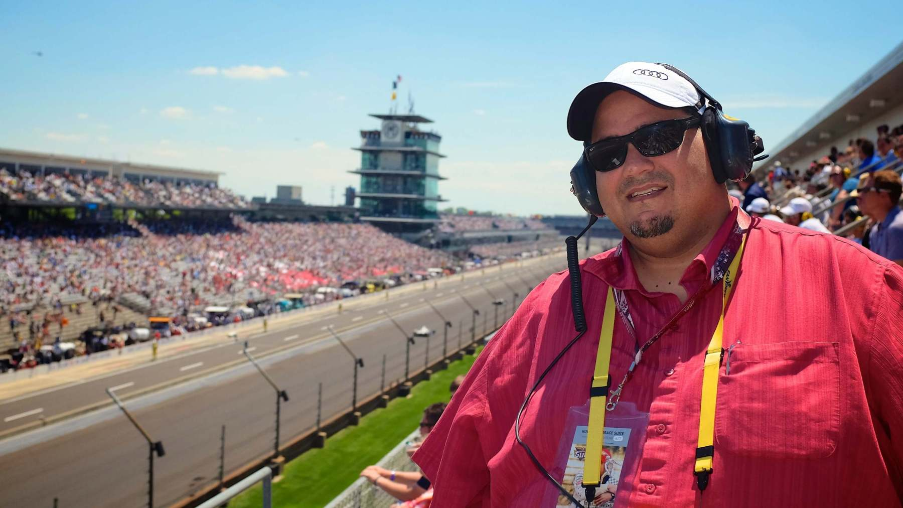 Our incredibly generous friend, Chris Lema, who helped us check off our Indy 500 bucket list item in epic fashion!