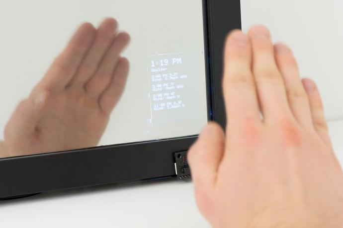 Interactive smart mirror