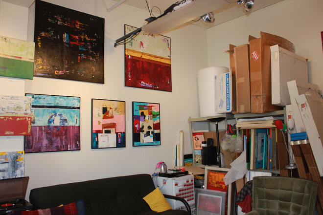 art painter studio shipping supplies