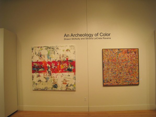 archeology of color inez greenberg art gallery