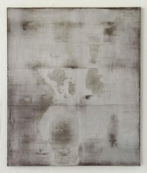 Christian Hetzel fissured surface white painting art
