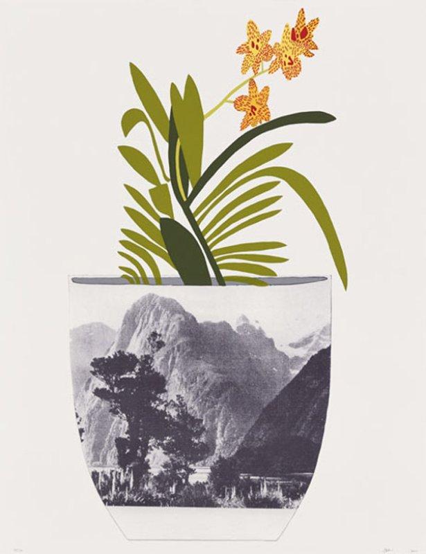Jonas Wood Plant Art Print