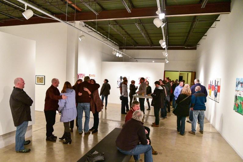 Art Party Crowd Twin Cities Minnesota
