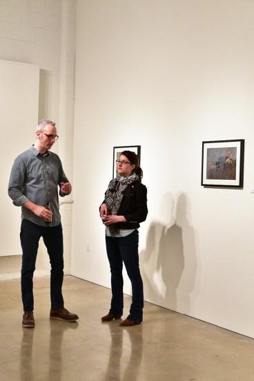 Artist Talk Modern Painter Minneapolis Gallery
