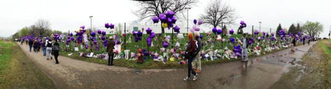 Prince Paisley Park Memorial Photos Images Tribute