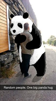 Snapchat Artist Geeohsnap Panda