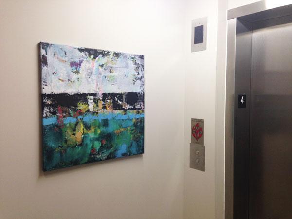 700 Central Lofts Minneapolis Floor 4 Elevator Aloe