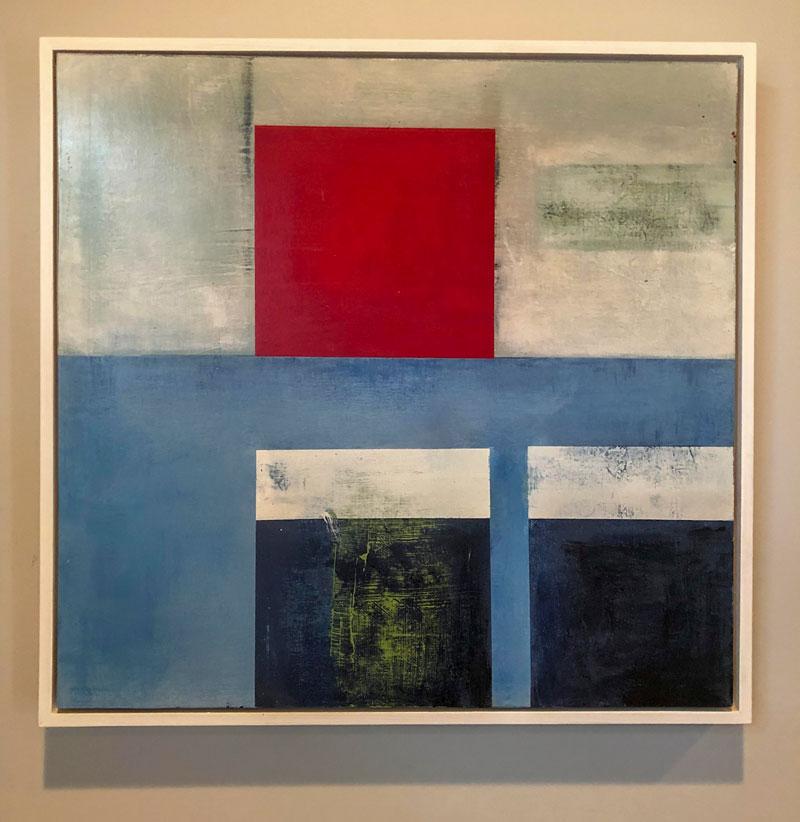 George Antoni Abstract Modern Painting Art Geometric