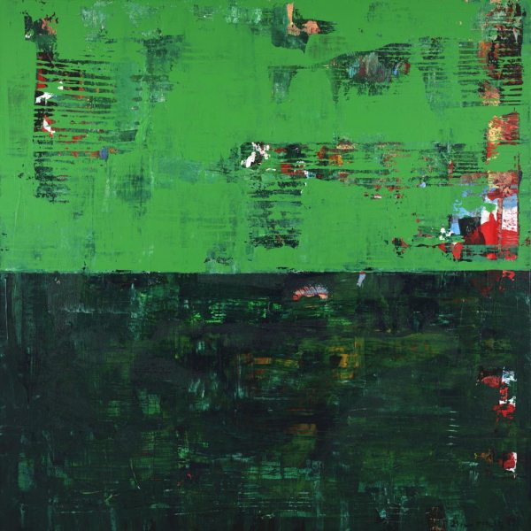 Herald Green Color Field Abstract Expressionism Art