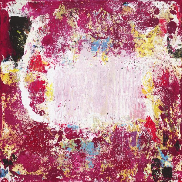 Kettle Fuschia Color Pink Abstract Painting