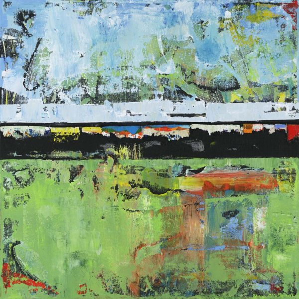 Salvation Green Modern Painting