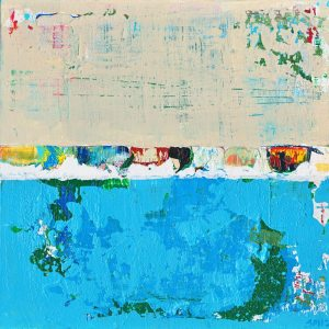 Swimmeret Marine Life Abstract Painting