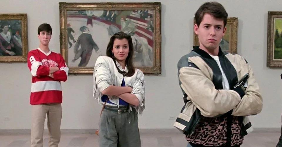 Ferris Bueller Art Gallery Scene