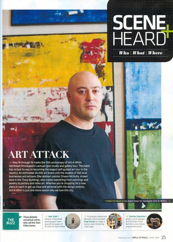 Mplsstpaul Magazine Artawhirl Shawn Mcnulty