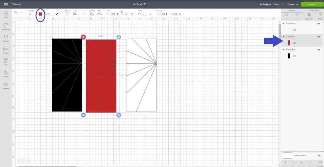 Duplicate and contour in Cricut Design Space