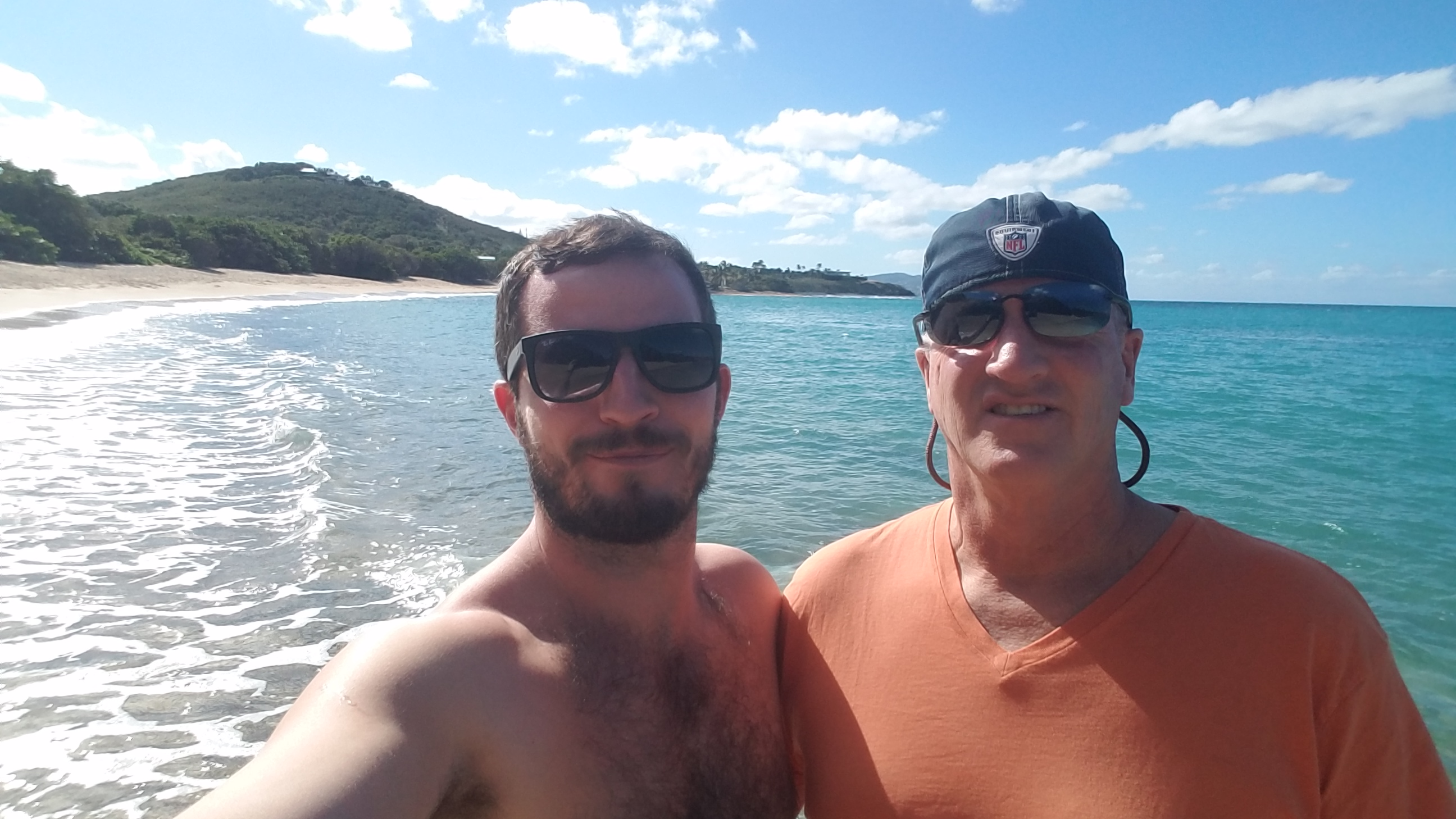 Shoy's Beach Saint Croix Dad