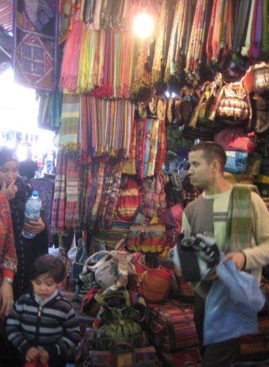 Souk in Marrakesh