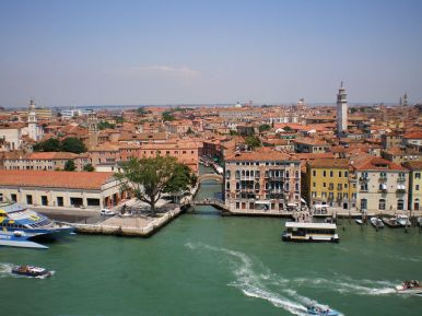 Cruises from Venice - View from Venice