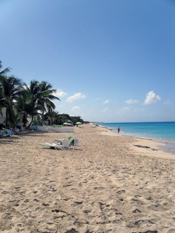 A beach on St. Croix