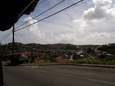 Driving in St. Thomas