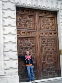 Huge Spanish door