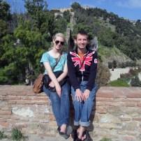 On top of the Alcazaba