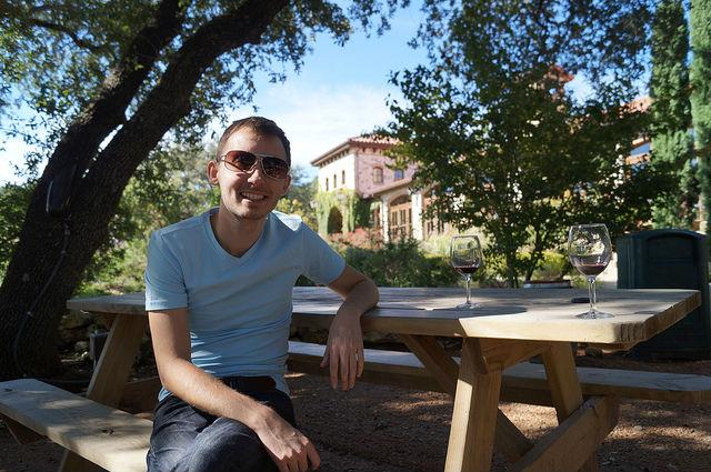 Shawn at Duchman Estates Winery