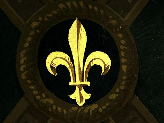 Fleur de lis in Chateau Royal France