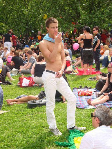 Gay Helsinki - In a Helsinki Park