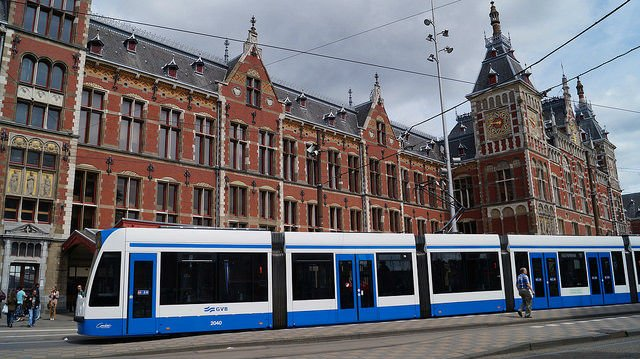 Amsterdam Netherlands - Amsterdam Trolley