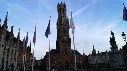 Bruges Belgium - Belfry Tower